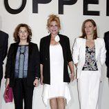 Soraya Saénz de Santamaría, Carmen Cervera y Elvira Fernández Balboa en 'Hopper'