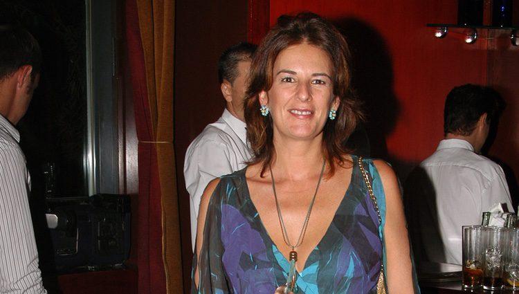 La periodista Ángela Portero