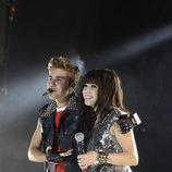 Justin Bieber y Carly Rae Jepsen