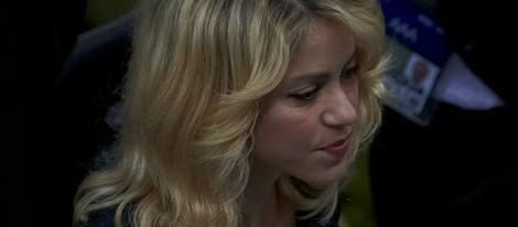 Shakira en el partido España-Irlanda de la Eurocopa 2012