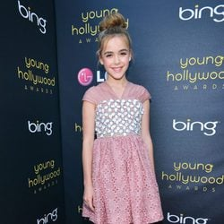 Kiernan Shipka en los Young Hollywood Awards 2012