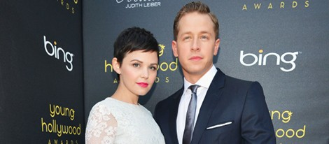 Ginnifer Goodwin y su novio Josh Dallas en los Young Hollywood Awards 2012