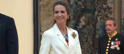 La Infanta Elena en la entrega de premios del Concurso de Pintura de Patrimonio Nacional