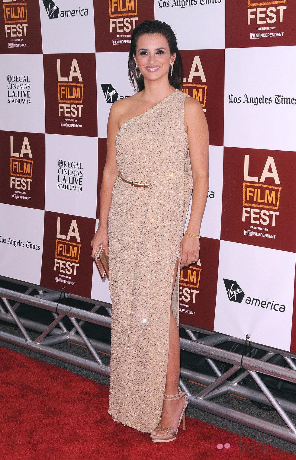 Penélope Cruz en el estreno de Los Angeles de 'To Rome with love'