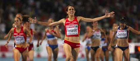 Nuria Fernández compite por España en Londres 2012