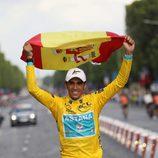 Alberto Contador, el gran ausente español en Londres 2012