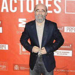 Álex Angulo en los Premios de la Unión de Actores 2012