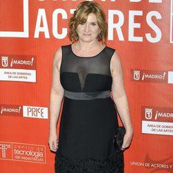 Ana Wagener en los Premios de la Unión de Actores 2012