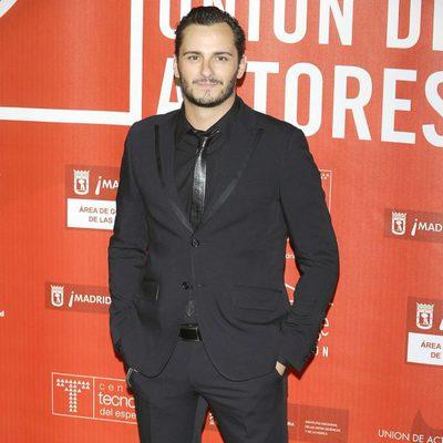 Asier Etxeandía en los Premios de la Unión de Actores 2012