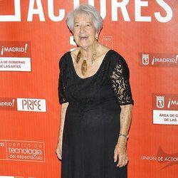 Asunción Balaguer en los Premios de la Unión de Actores 2012