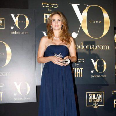 Genoveva Casanova en los Premios Internacionales Yo Dona 2012