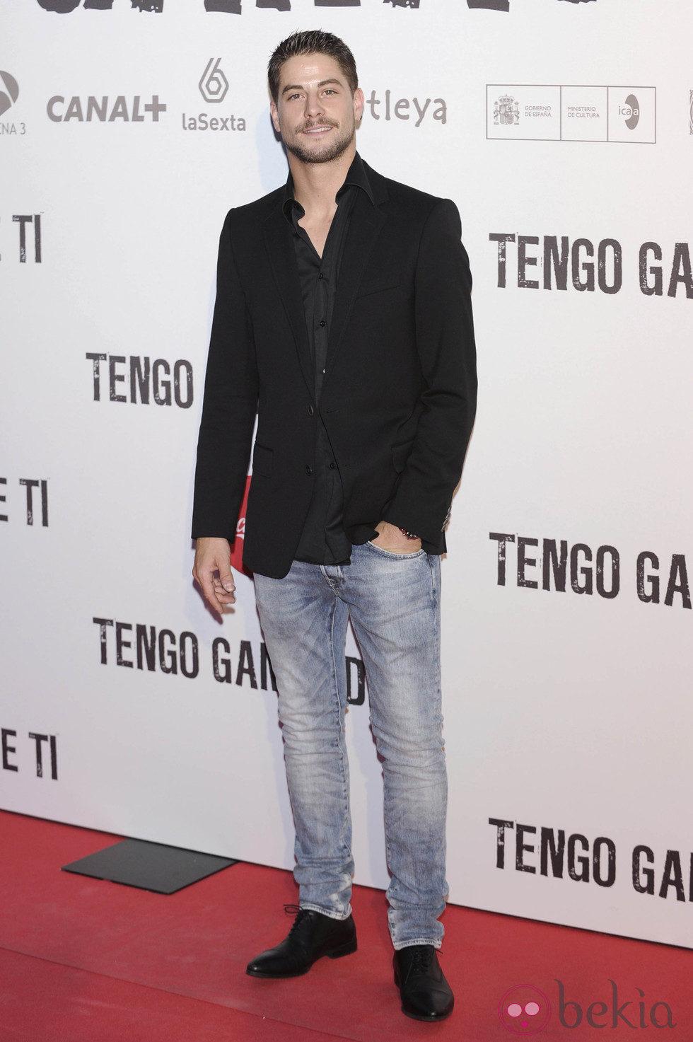 Luis Fernández en el preestreno de 'Tengo ganas de ti' en Madrid