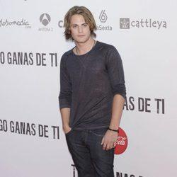 Jaime Olías en el preestreno de 'Tengo ganas de ti' en Madrid