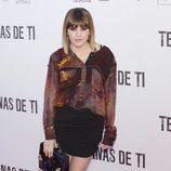 Angy en el preestreno de 'Tengo ganas de ti' en Madrid