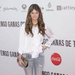 Nerea Camacho en el preestreno de 'Tengo ganas de ti' en Madrid