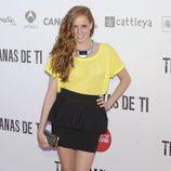 Maria Castro en el preestreno de 'Tengo ganas de ti' en Madrid
