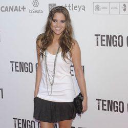 Ana Fernández en el preestreno de 'Tengo ganas de ti' en Madrid