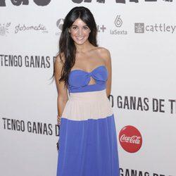 Noelia Lopez en el preestreno de 'Tengo ganas de ti' en Madrid