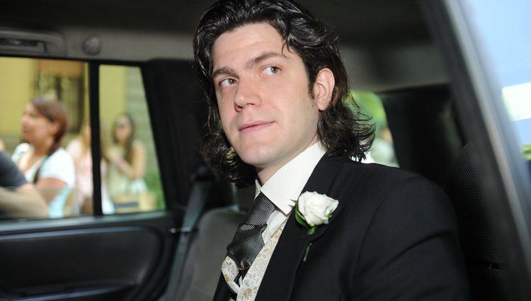 Jacobo Fitz-James Stuart el día de su boda