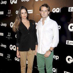 Andy Soucek y su novia en la Noche de San Jorge Juan 2012