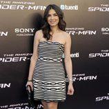 Marta Fernández en el estreno de 'Tha Amazing Spiderman' en Madrid