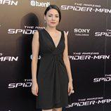 Ana Arias en el estreno de 'The Amazing Spiderman' en Madrid