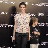 Norma Ruiz en el estreno de 'The Amazing Spiderman' en Madrid