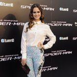 Alicia Sanz en el estreno de 'The Amazing Spiderman' en Madrid