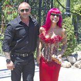 Chiqui Martí en la boda de Tamara Gorro y Ezequiel Garay