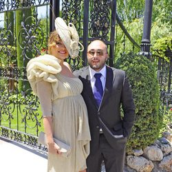 Kiko Rivera y Jessica Bueno en la boda de Tamara Gorro y Ezequiel Garay