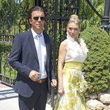 Sonia Arenas en la boda de Tamara Gorro y Ezequiel Garay