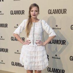 Laura Hayden en el décimo aniversario de Glamour