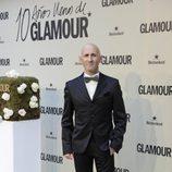 Modesto Lomba en el décimo aniversario de Glamour