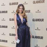 Petra Nemcova en el décimo aniversario de Glamour