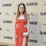 Carla Nieto en el décimo aniversario de Glamour