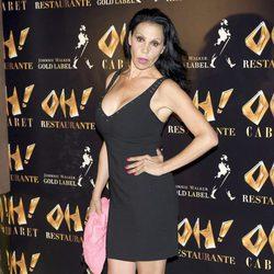 Toñi Salazar en la inauguración de Oh Cabaret