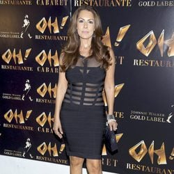 Jacqueline de la Vega en la inauguración de Oh Cabaret