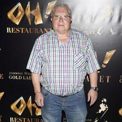 Juanito el Golosina en la inauguración de Oh Cabaret