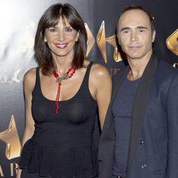 Pastora Vega y Juan Ribó en la inauguración de Oh Cabaret