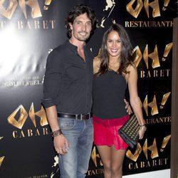 Felipe López y Mireia Canalda en la inauguración de Oh Cabaret