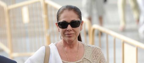 Isabel Pantoja llega a la primera sesión del juicio por el caso Malaya