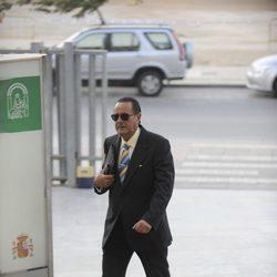 Julián Muñoz llega a la primera sesión del juicio por el caso Malaya
