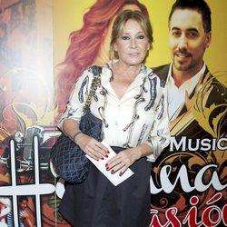 Mila Ximénez en el estreno del musical 'Habana Pasión'