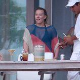 Hilary Duff disfruta de unos días de vacaciones en México