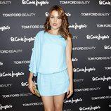 Adriana Ugarte en la inauguración del stand de belleza de Tom Ford