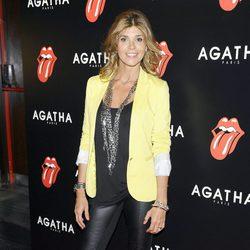 Arancha de Benito la fiesta de Ágatha con motivo del 50 aniversario de los Rolling Stones