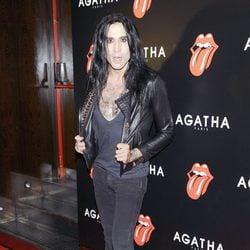 Mario Vaquerizo en la fiesta de Ágatha con motivo del 50 aniversario de los Rolling Stones