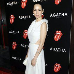 Lola Marceli en la fiesta de Ágatha con motivo del 50 aniversario de los Rolling Stones