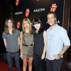 Dover en la fiesta de Ágatha con motivo del 50 aniversario de los Rolling Stones