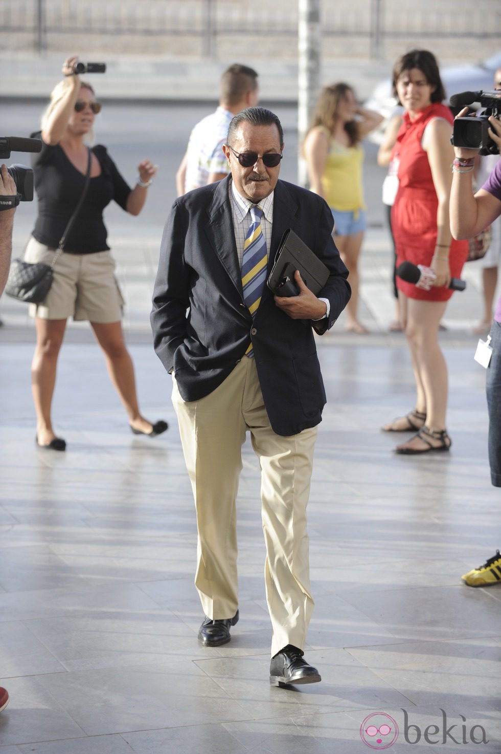 Julián Muñoz a su llegada a la segunda sesión del juicio por el caso Malaya